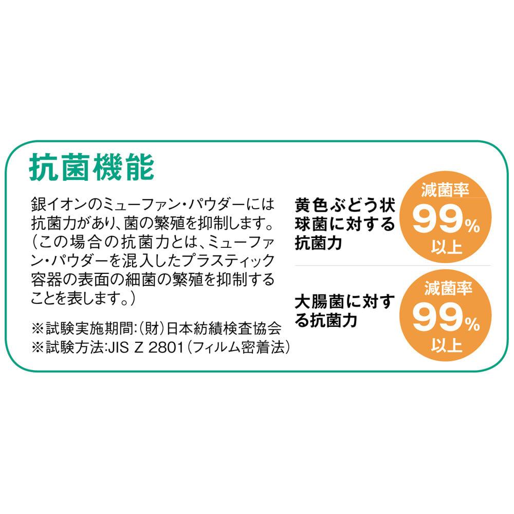 【サイズオーダー】銀イオン配合(AG+)  軽量・抗菌 パネル式風呂フタ 幅132~140奥行68cm(2枚割)