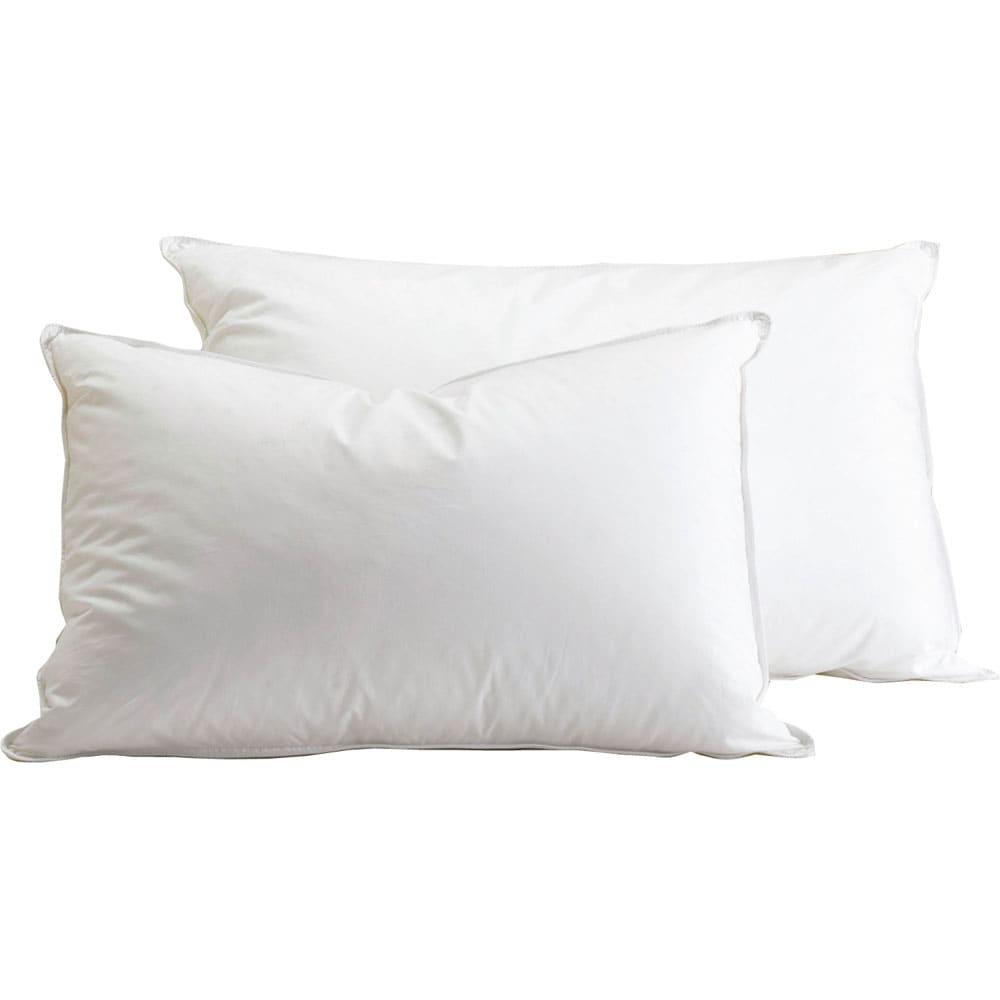 デンマーク製フォスフレイクス安眠枕と綿100%カバー ※手前が約43×63cm