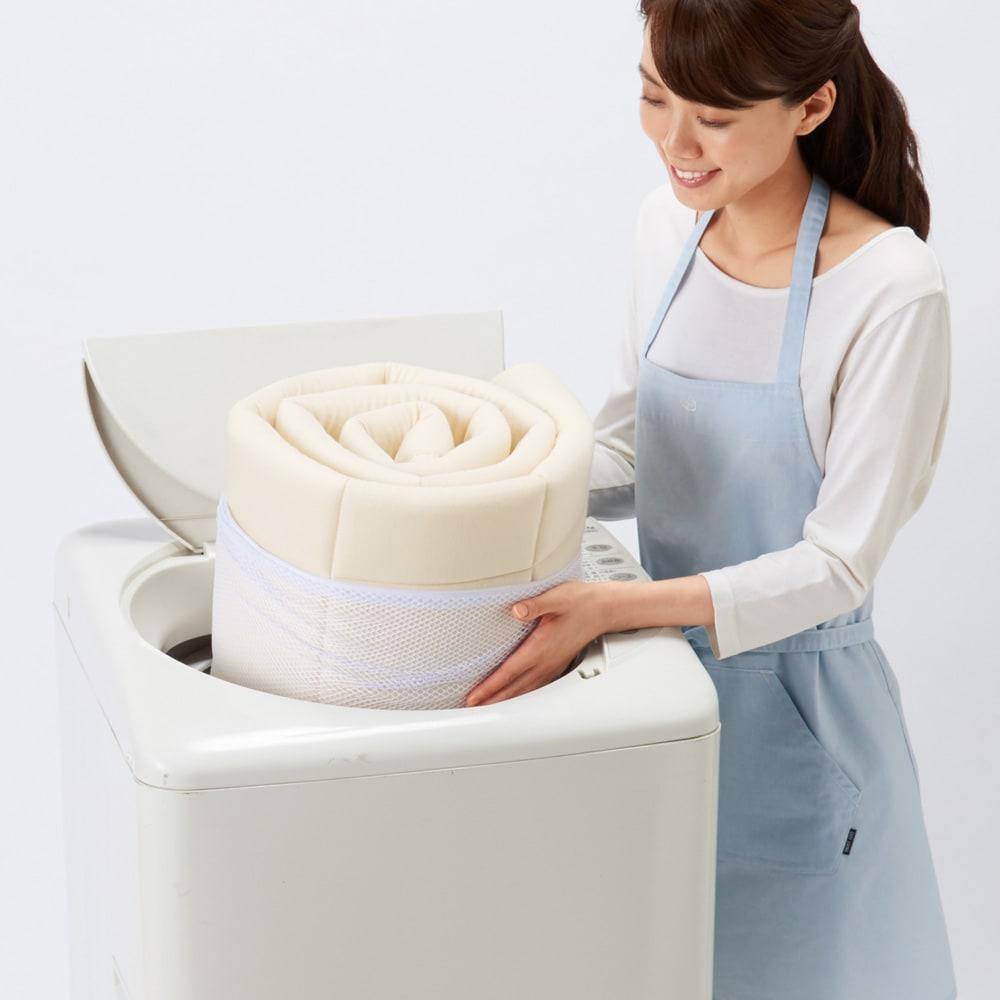 この薄さで驚きの寝心地!魔法の敷きマット 洗濯機OK!