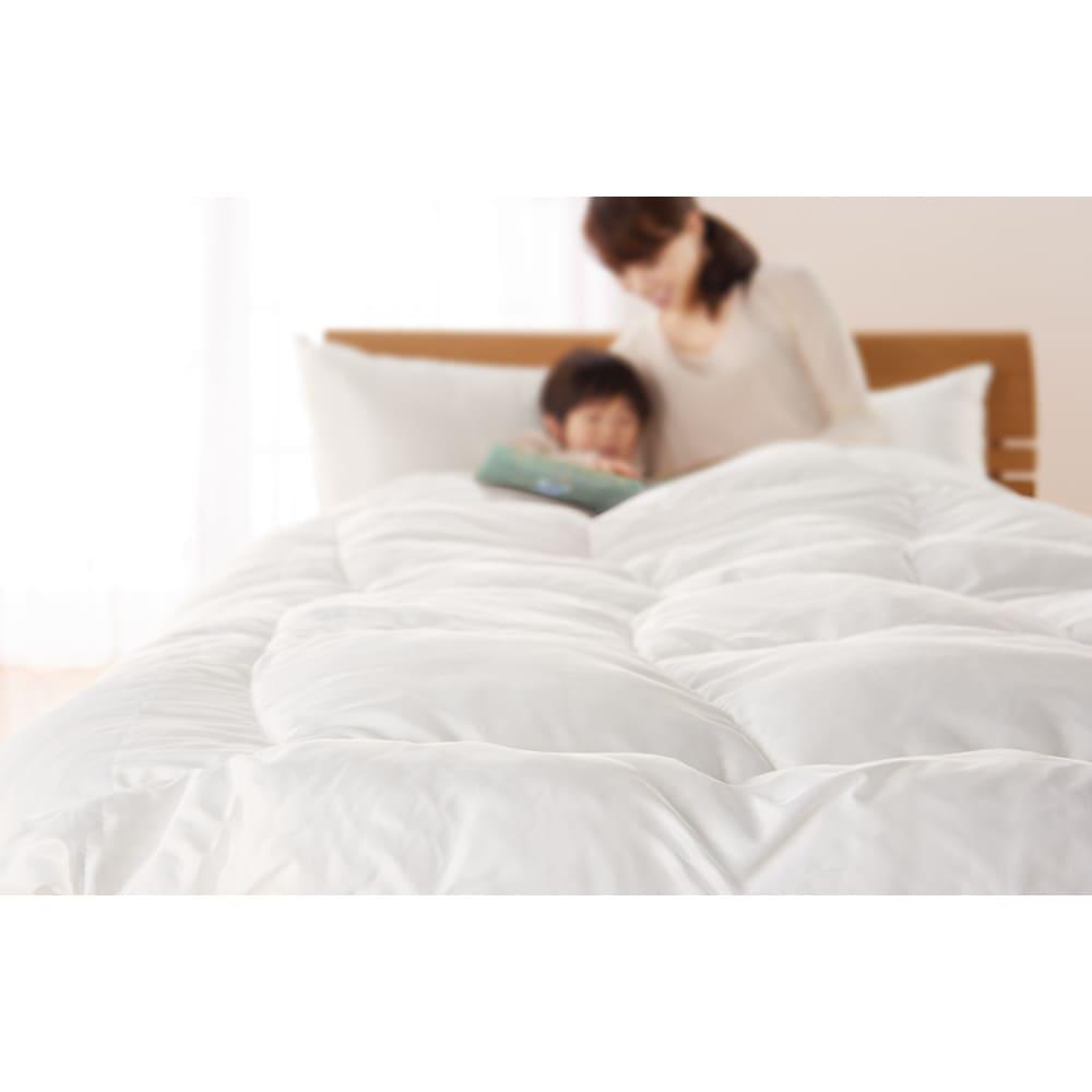 ミクロガード(R)プレミアム布団シリーズ ふんわり掛け布団 寝具を考えることは、健康を考えること。実感できるハウスダスト対策を