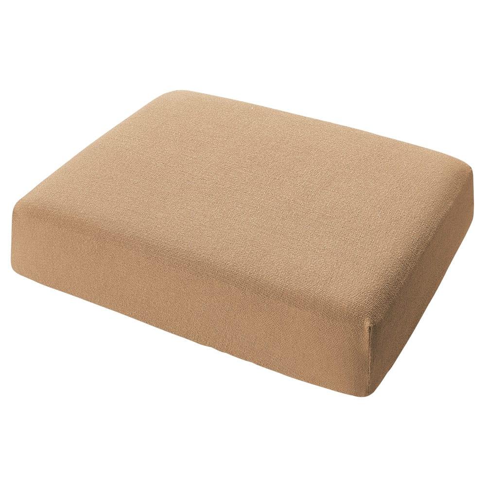 スペイン製カバー[エデン]座面・背もたれ兼用カバー(1枚) (イ)ベージュ ※写真は1人用サイズです。