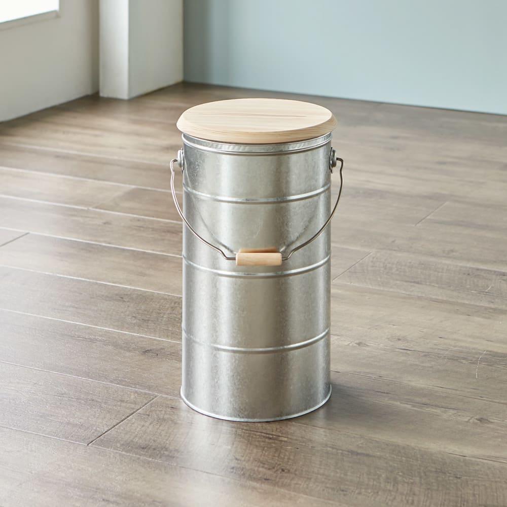 キッチン 家電 キッチン用品 キッチングッズ 米びつ OBAKETSU/オバケツ 檜フタの米びつ 10kg用 581417