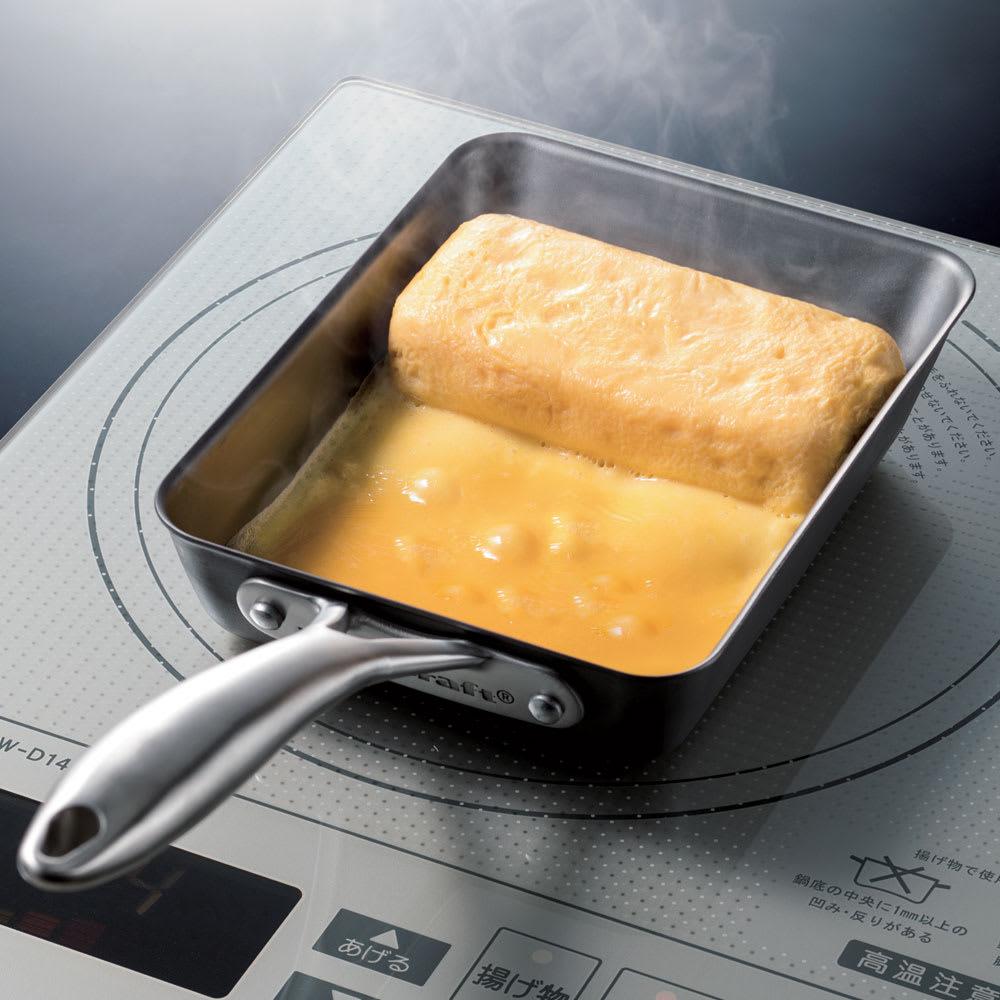 vitacraft/ビタクラフト スーパー鉄 エッグパン シルバー フライパン
