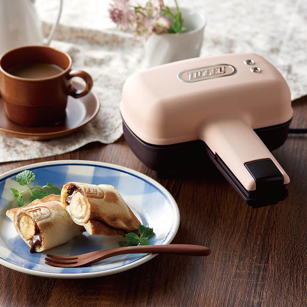 Toffy/トフィー 食パン1枚で焼ける電気式ホットサンドメーカー