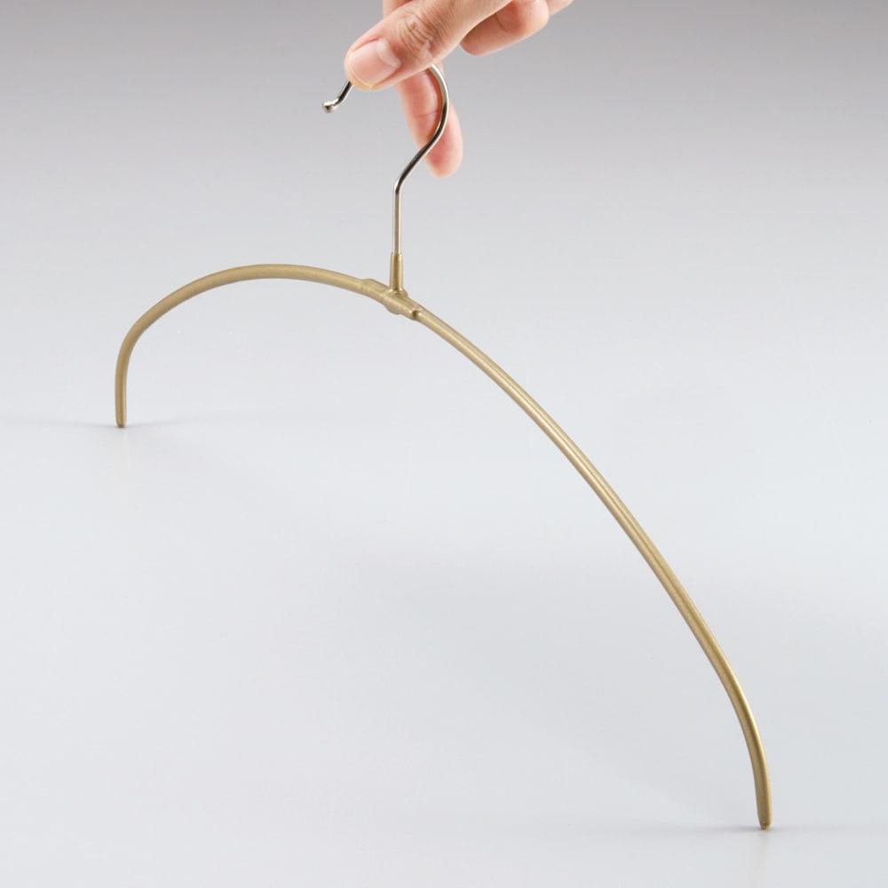 MAWA(マワ)洗濯ハンガー 人体スリムハンガー ステンレス製のフックは90度回転可能。干す向きを変えたいときも便利です。
