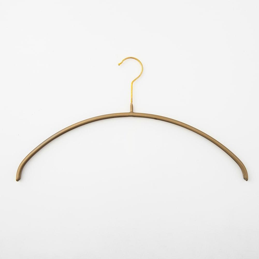 家具 収納 衣類収納 クローゼットハンガー カバー 人体ハンガー(MAWAハンガー ゴールドフック 50本組) 612718
