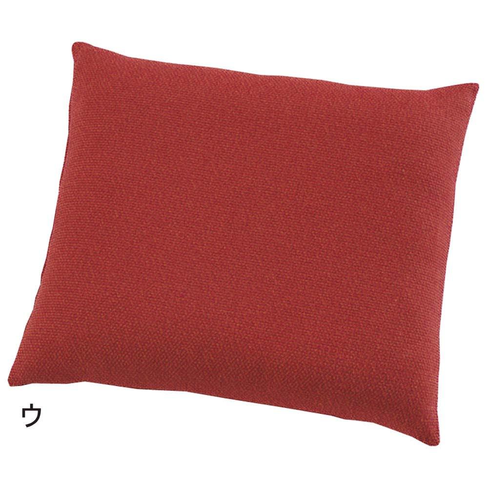 スペイン製はっ水 フィットカバー[サマンサ] 座布団カバー 色が選べる2枚 (ウ)レッド系