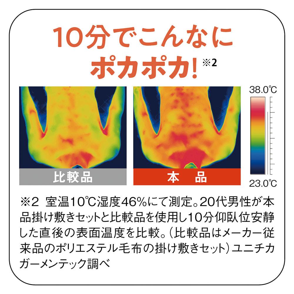 【ディノス限定販売】ヒートループ(R)DX くまのプーさんデザイン お得な掛け+敷き シングルセット