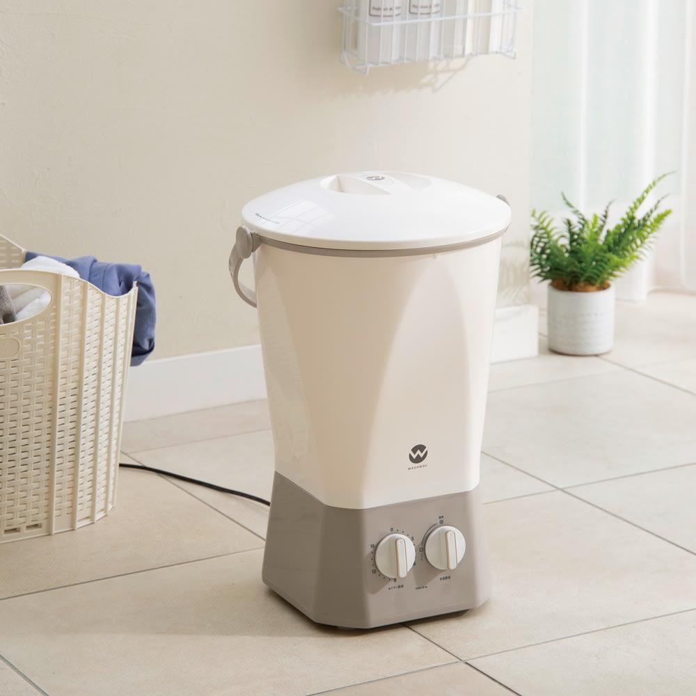 バケツ型洗濯機 ウォッシュボーイ 洗濯機・乾燥機