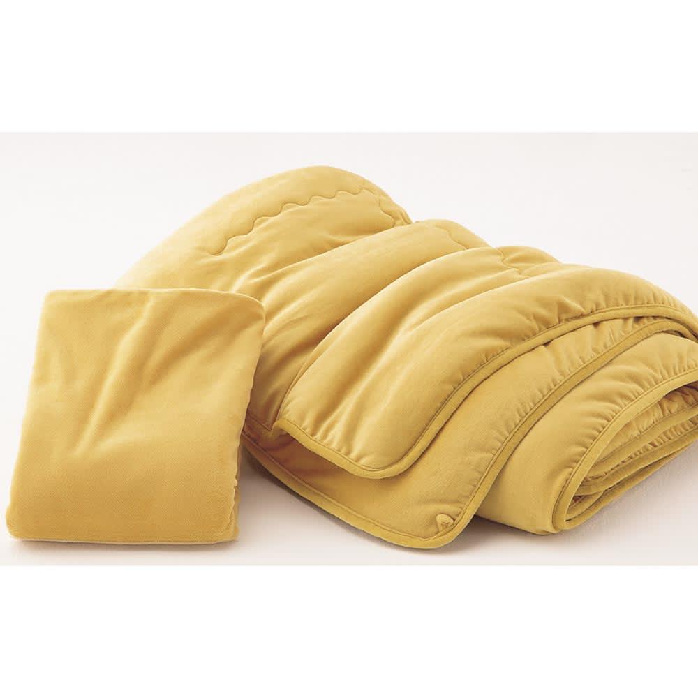 陽だまりのような温もり 肩口あったかキャメルコンフォーター(掛け布団)【定番カラー:キャメル・ラベンダーグレー】 【シリーズ品を2点以上同時購入で5%OFF】専用カバーとセットで使えば、衛生的で肌触りも◎