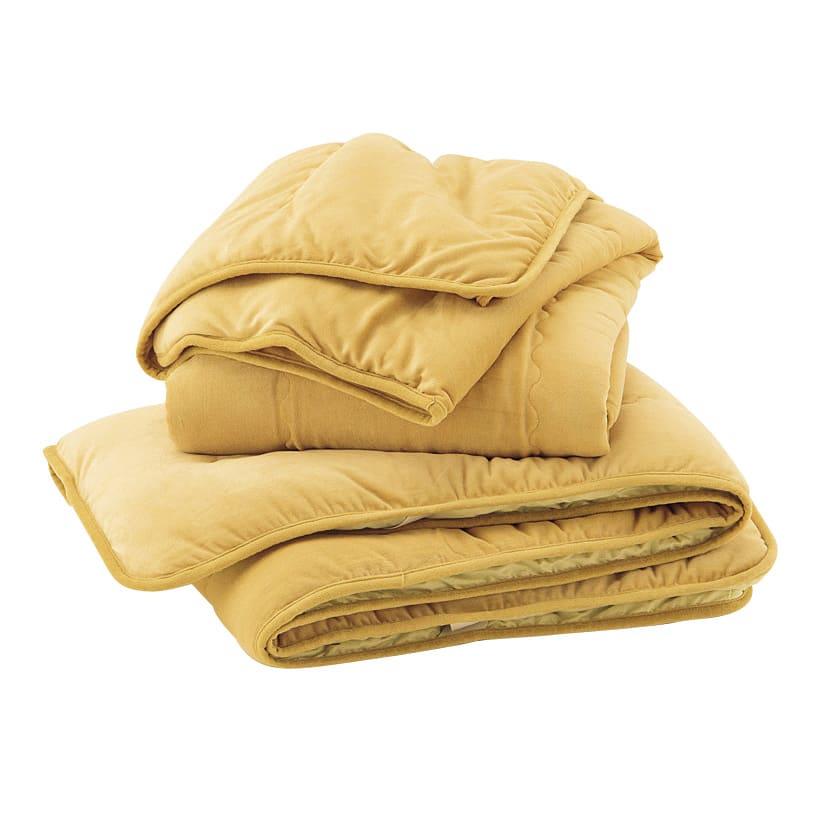 陽だまりのような温もり 肩口あったかキャメルコンフォーター(掛け布団)【定番カラー:キャメル・ラベンダーグレー】 【シリーズ品を2点以上同時購入で5%OFF】キャメルの暖かさに包まれる、掛け敷きセットの使い方がおすすめ。