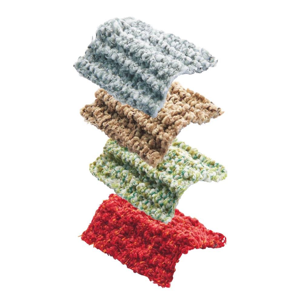 スペイン製フィットカバー〈ルガーノ〉 ソファカバー アーム付き 【ルガーノ】ツイードのような風合いと糸のミックス感が、フラットでシンプルな生地に高級感をプラス。 上から(ア)グレー(イ)ブラウンベージュ(ウ)グリーン(エ)レッド