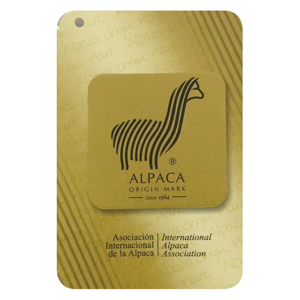 シルクのような光沢となめらかさ プレミアムベビーアルパカ毛布シリーズ お得な掛け毛布&敷き毛布セット 【ゴールドアルパカマーク】 世界各国100社以上が加盟する国際アルパカ協会により、認定された商品だけに付けられるゴールドアルパカマークが品質の証です。