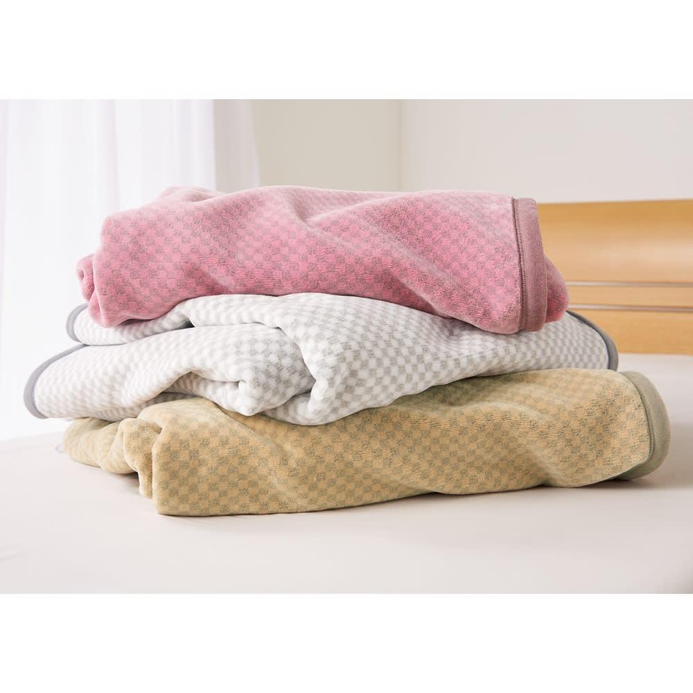 ロマンス岩盤浴シリーズ ニューマイヤー毛布 シングル 725607