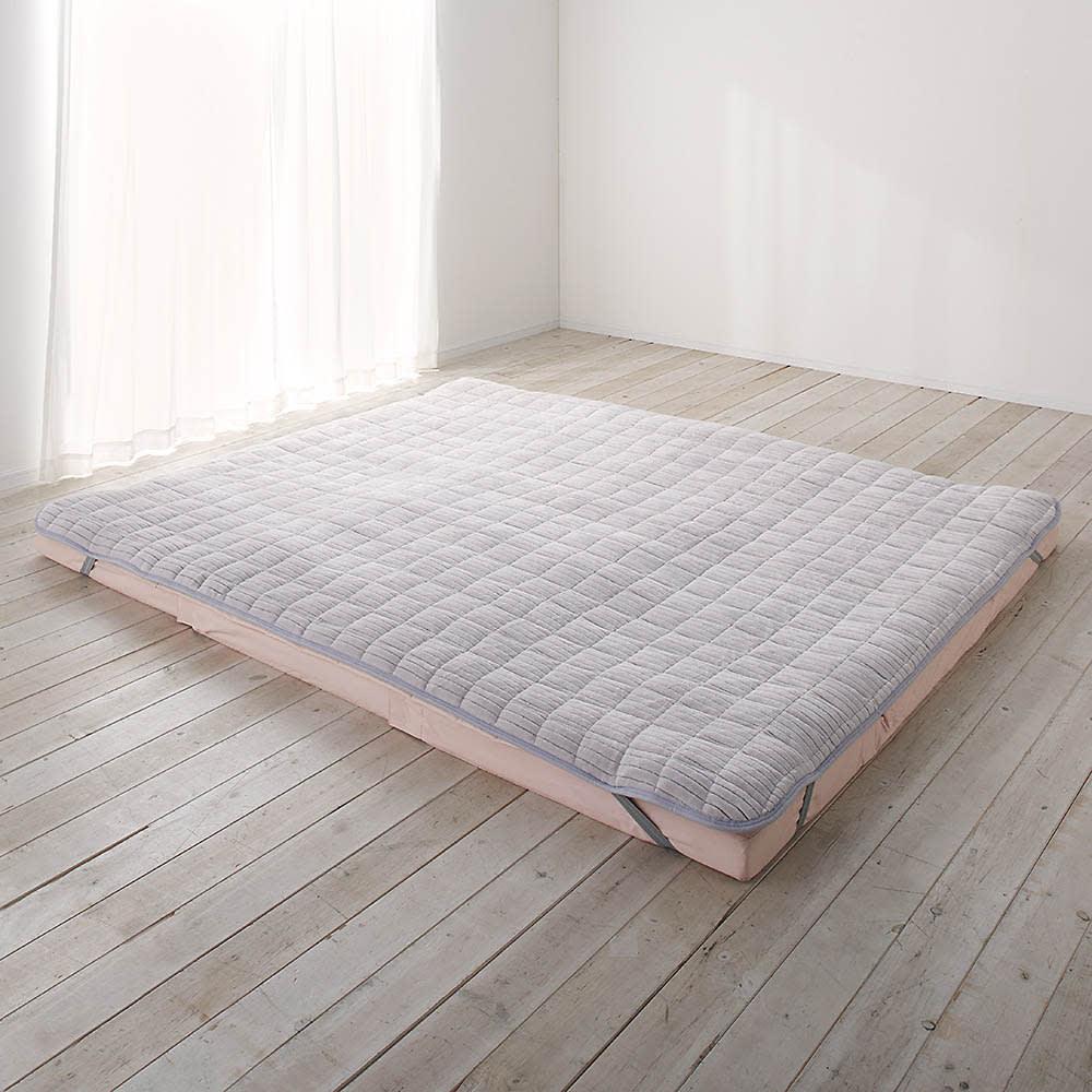 シングル(暖かさと肌へのやさしさを考えたFUWARMシリーズ ふんわり敷きパッド) 725617
