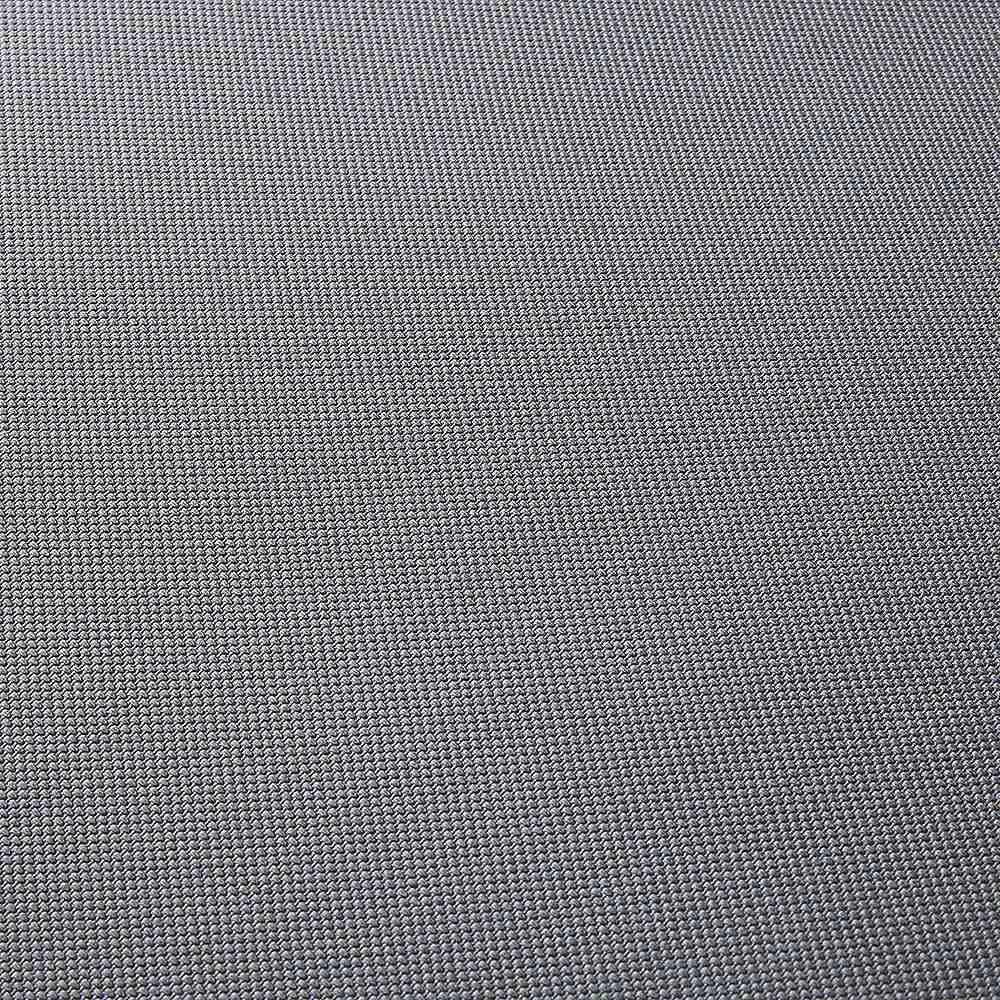 ハイバックモダンダイニング 回転アームチェア(1脚) (ア)ホワイト木目 座部(生地)アップ 合成皮革なので汚れてもお手入れが簡単です。