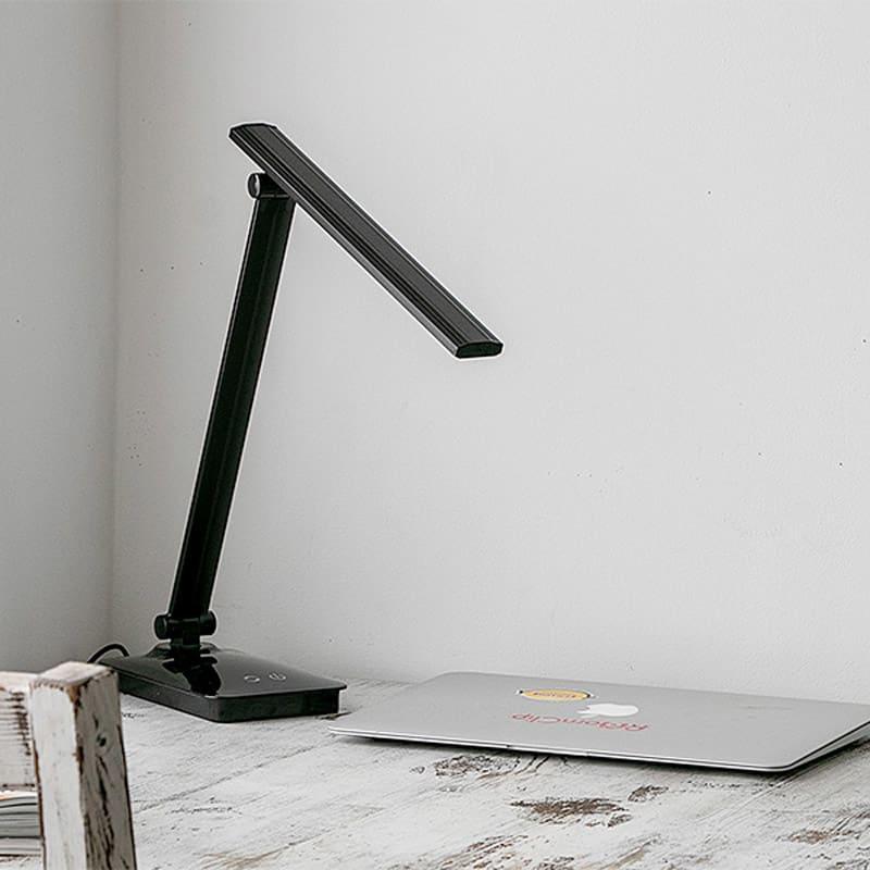 LEDデスクライト (イ)ブラック