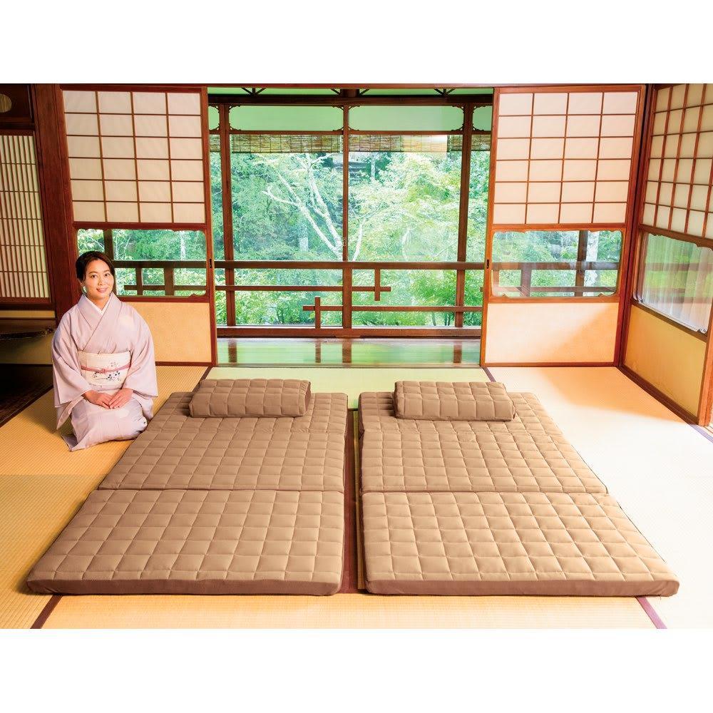 セミダブル(名旅館「岩惣」 おもてなしの寝心地シリーズ 敷布団) 725302
