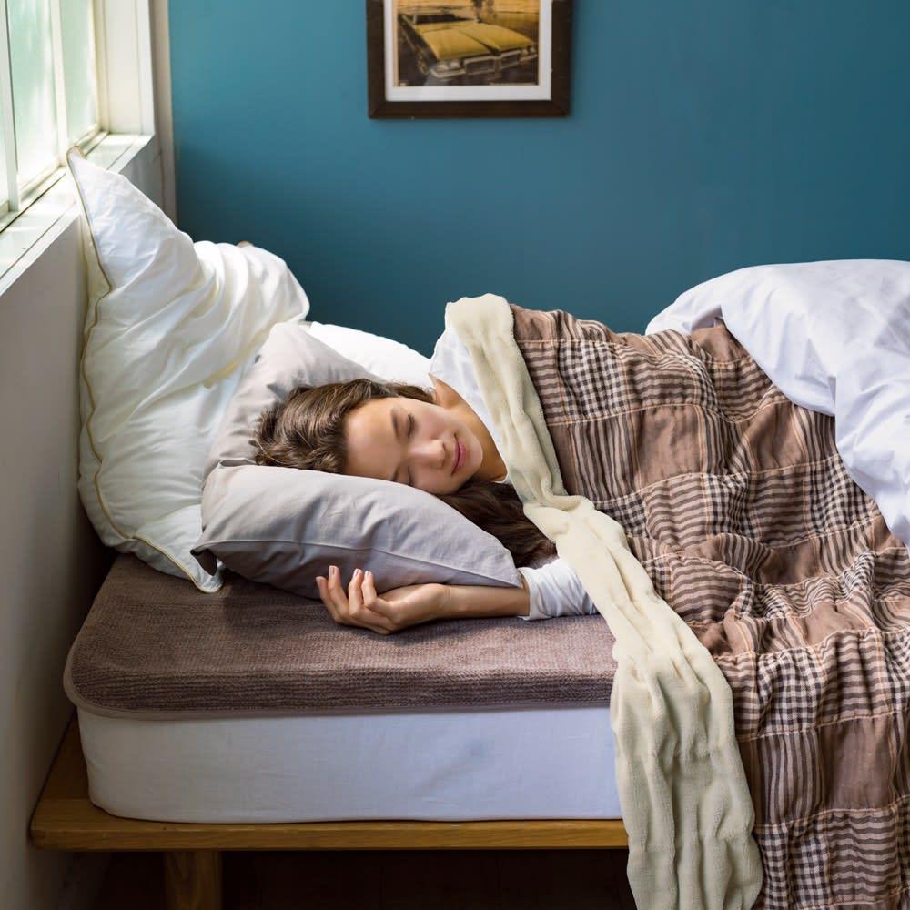 西川 ウール素材インナーブランケット(R) 敷き毛布 ※お届けは敷き毛布です。