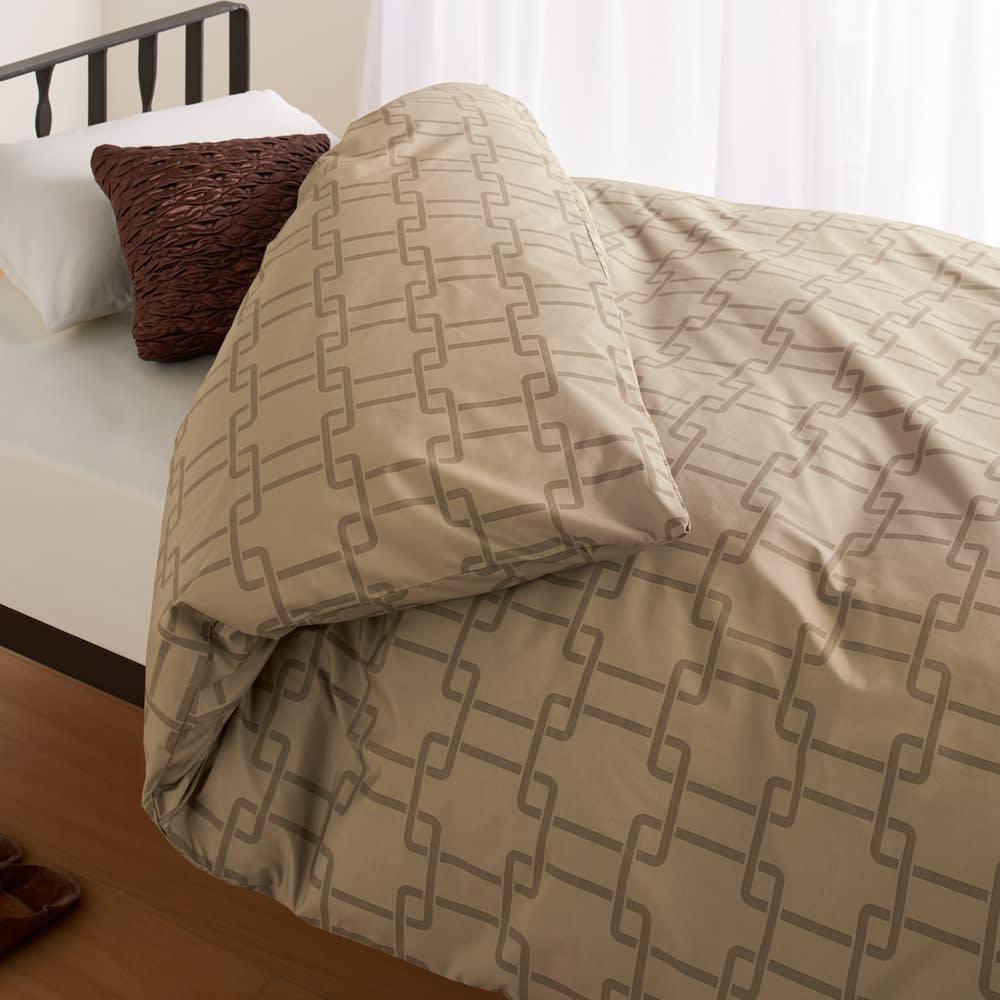 シングルロング(日本ハンガリー国交150周年記念 ノーブルダウン羽毛布団シリーズ 掛けカバー) 730605