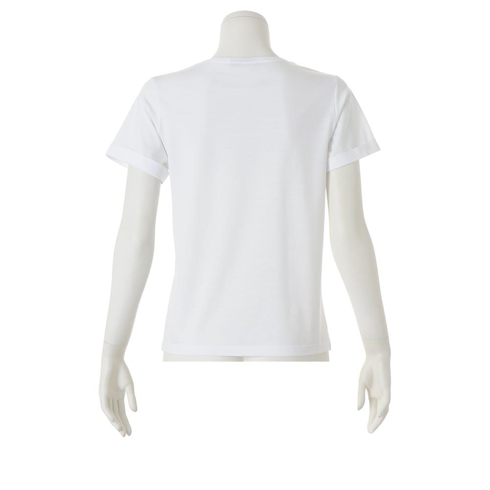 美デコルテ(R) クルーネック 半袖Tシャツ