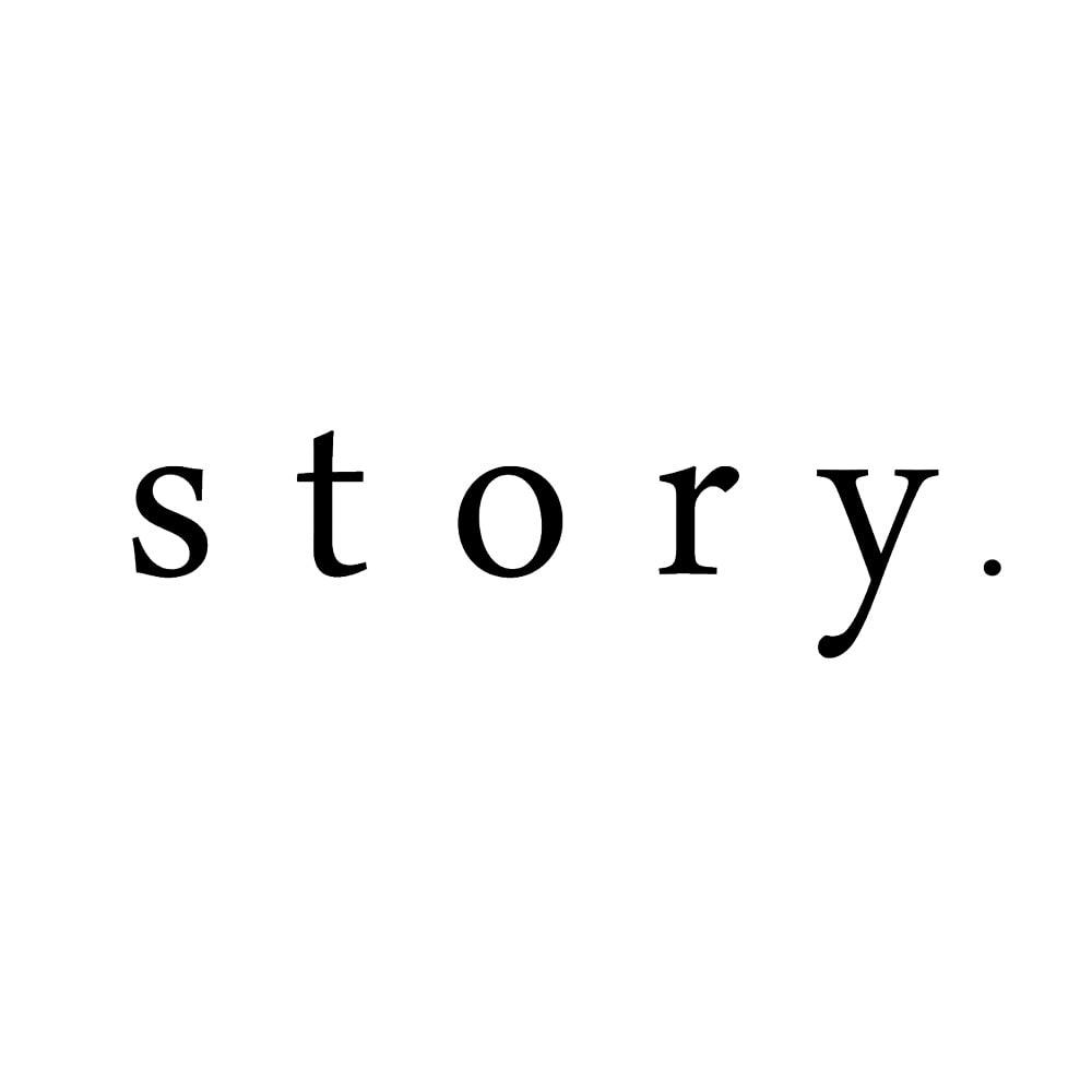 story./ストーリー レザートートバッグ(リバーシブル巾着付き)
