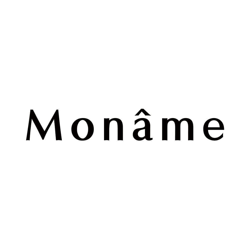 Moname/モナーム デニムビッグシルエット ノーカラーコート