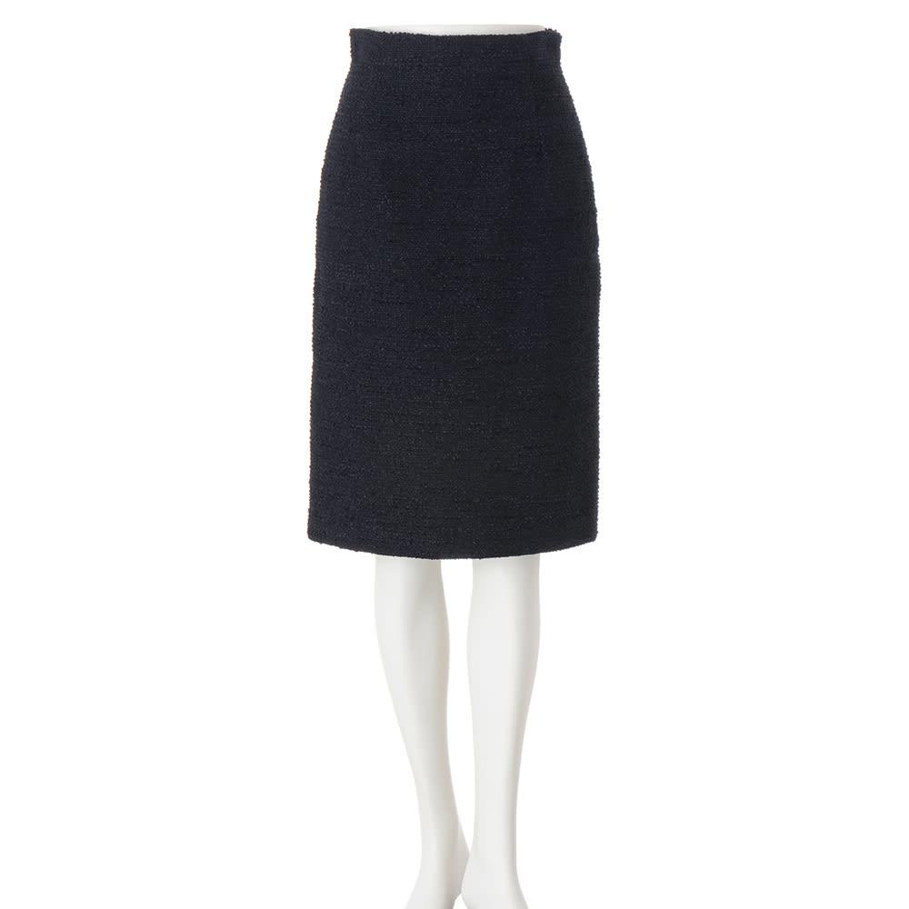 別注ツイード シリーズ お得なセット(フリンジジャケット+ハイウエストタイトスカート) スカート
