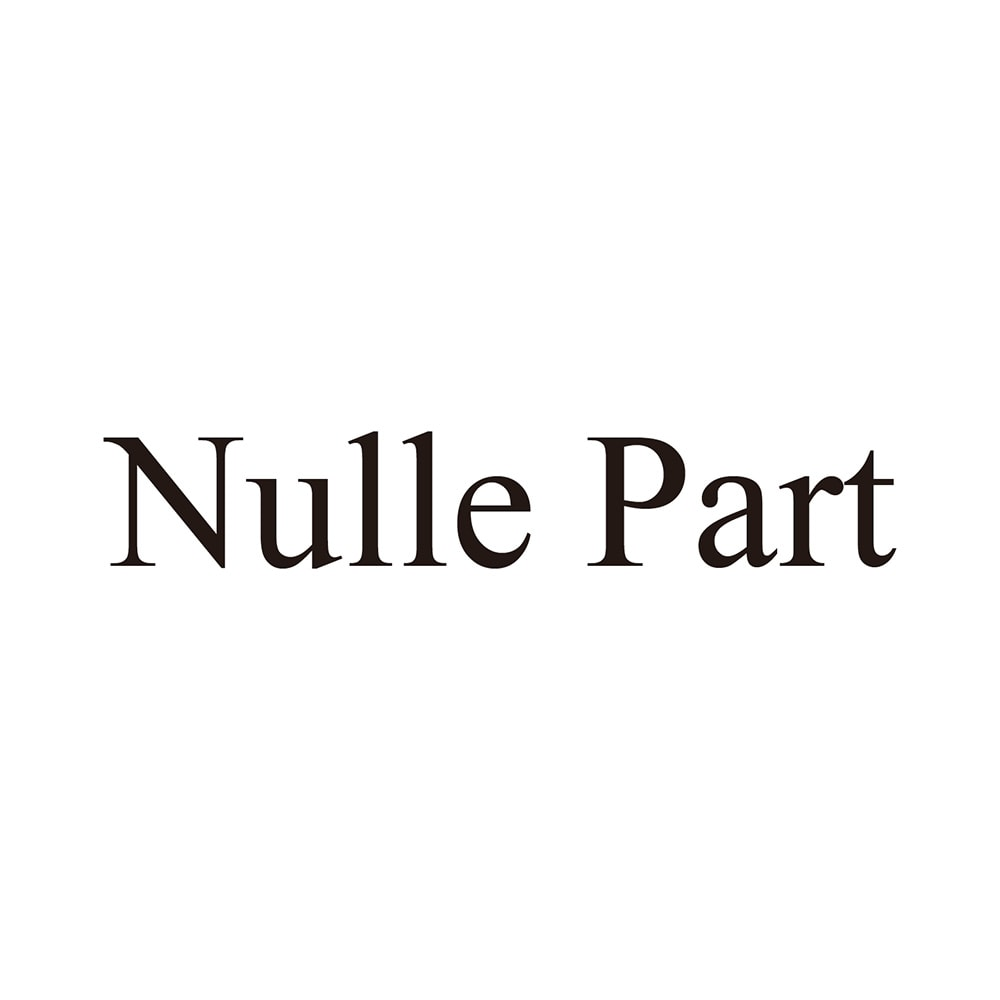 Nulle Part/ニルパール メッシュトートバッグ