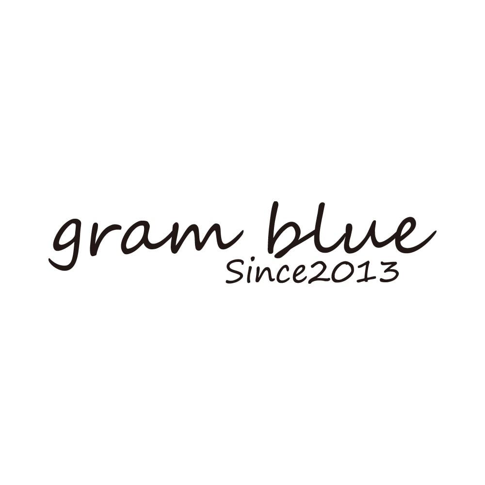 gram blue/グラムブルー ニューボーイフレンド 多機能デニムパンツ