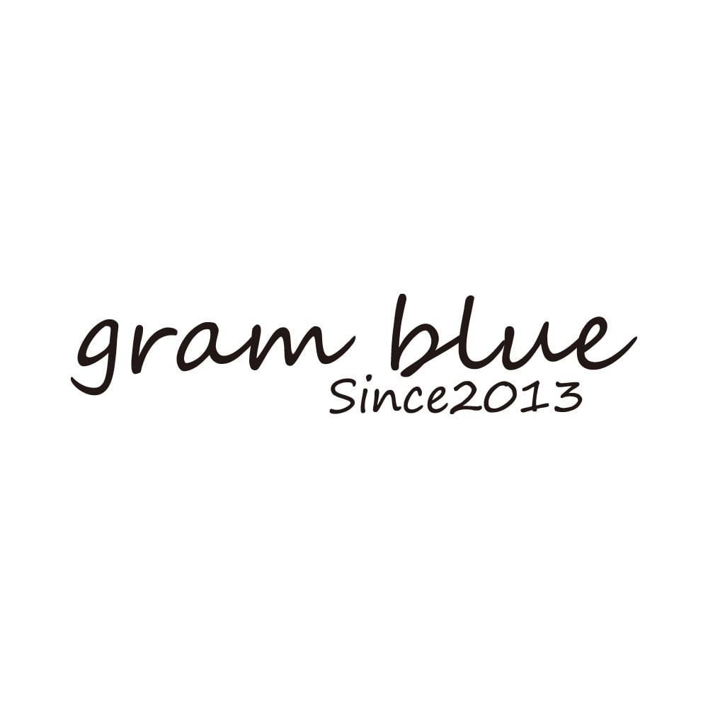 gram blue/グラムブルー はっ水加工 ホワイトデニムパンツ