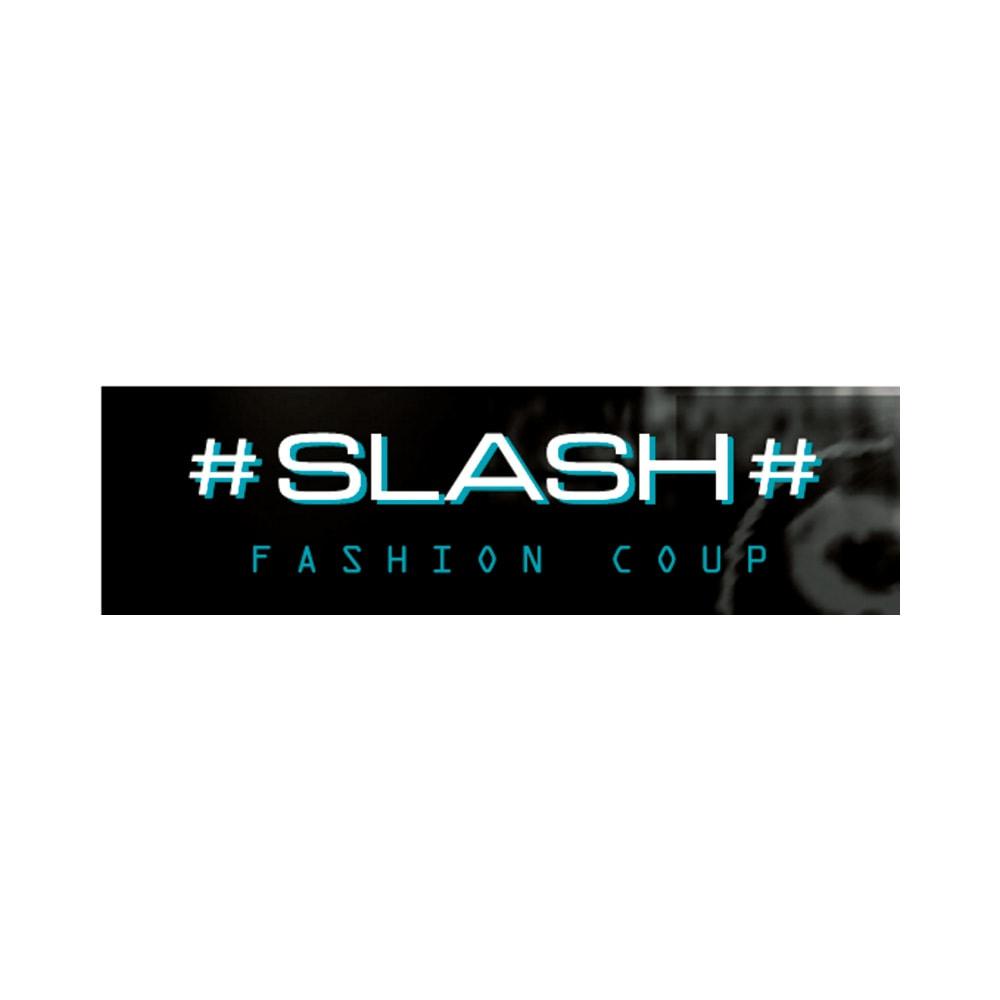 SLASH/スラッシュ ベロアフリルワンピース(イタリア製)