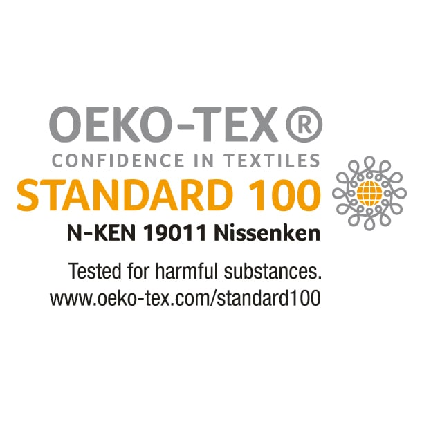 gram blue/グラムブルー センタープレス テーパードジーンズ 1本の糸から、サスティナブルな未来を紡ぐ、繊維の安全認証「エコテックス(R)」