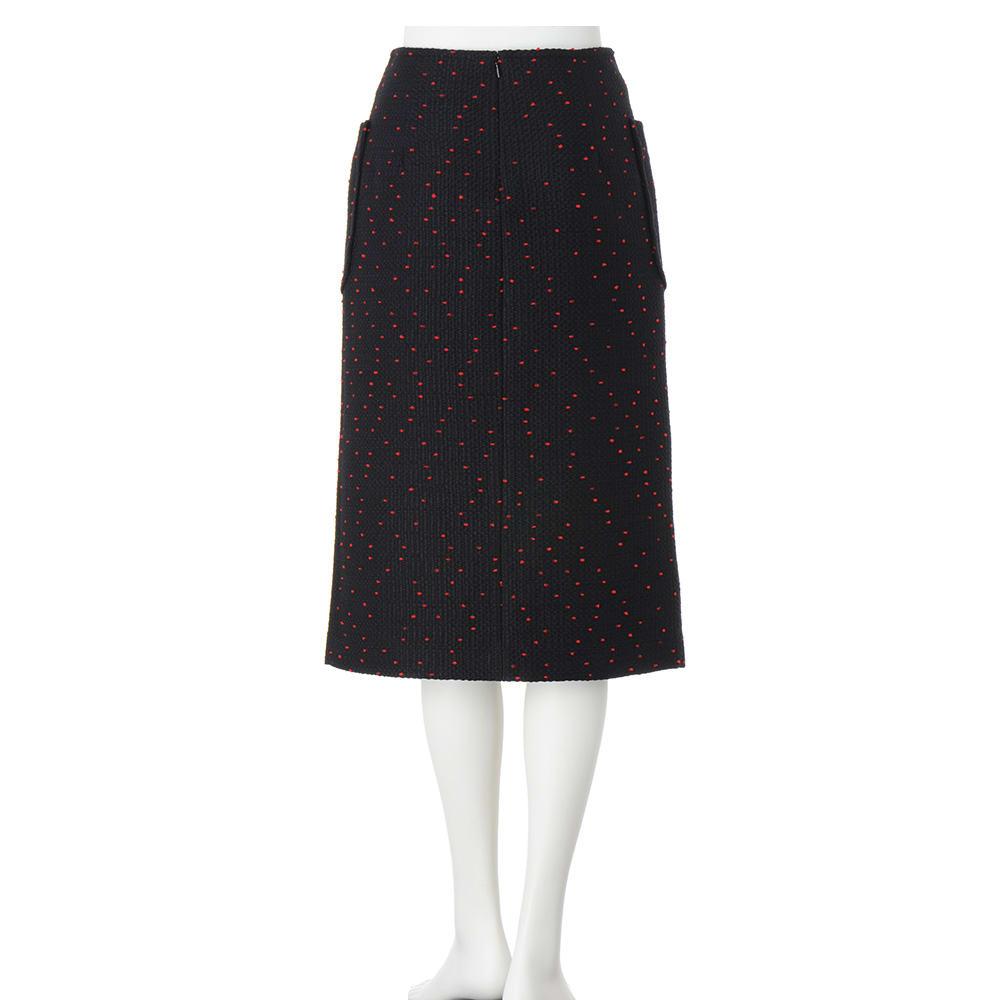 フランス生地 スリットデザイン スカート