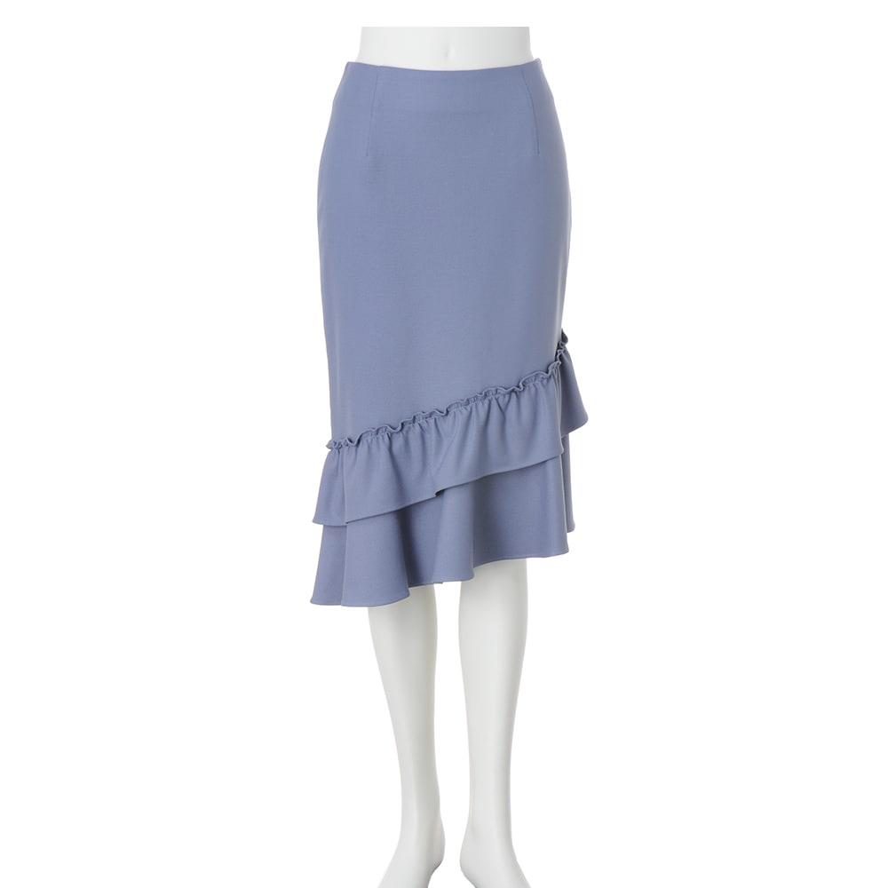 ティアードデザイン マーメードスカート