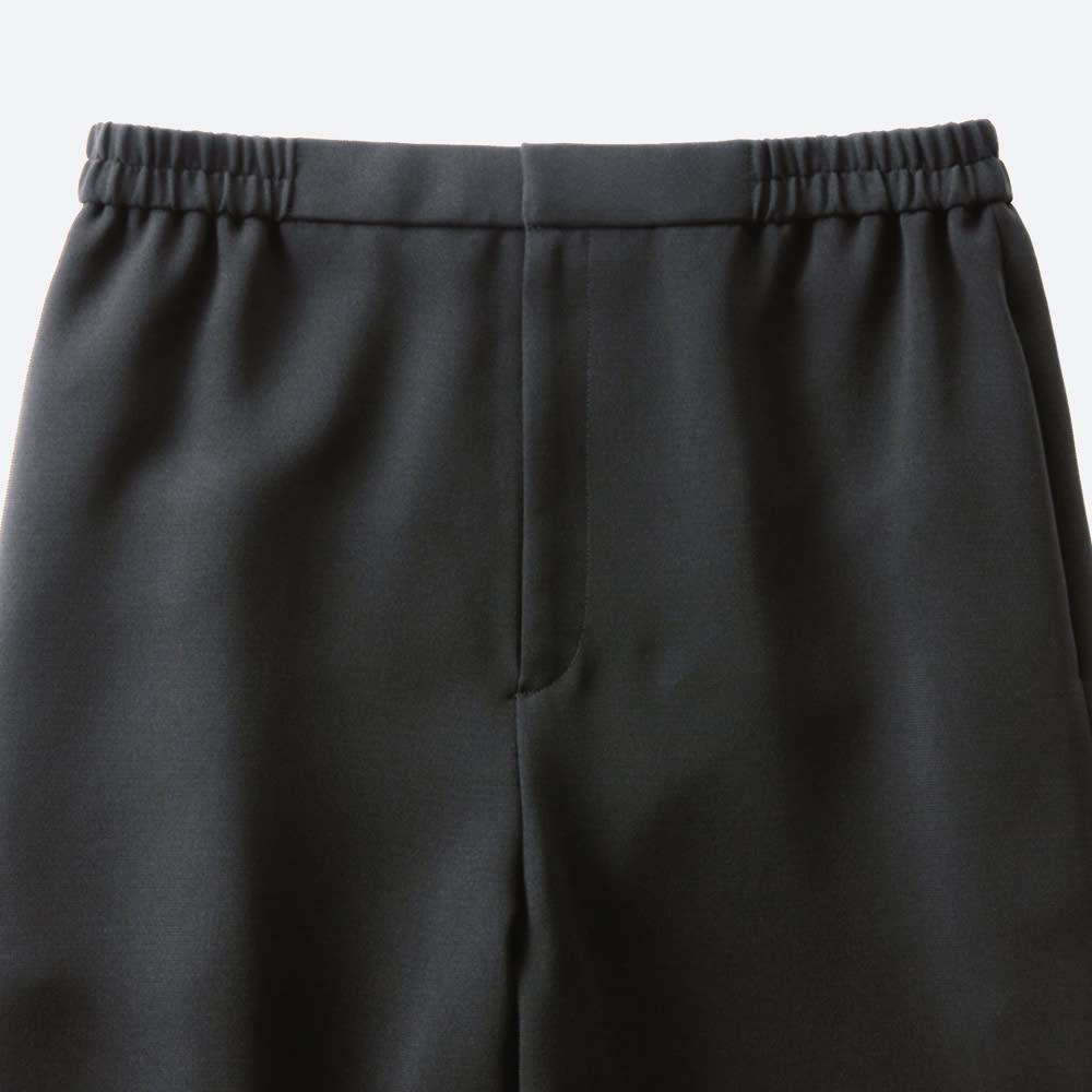 ブラックフォーマル対応 洗えるパンツスーツ