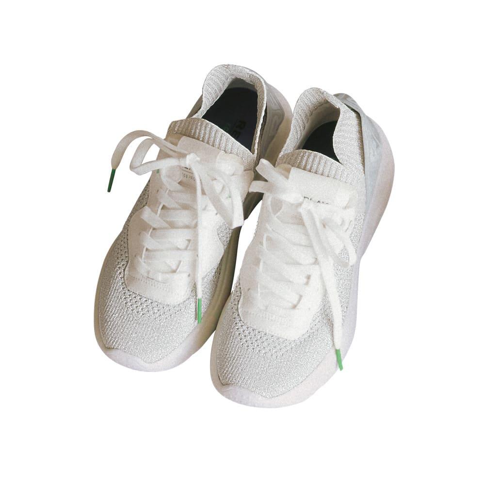 REPLAY/リプレイ エコ素材 スニーカー (ア)ホワイト