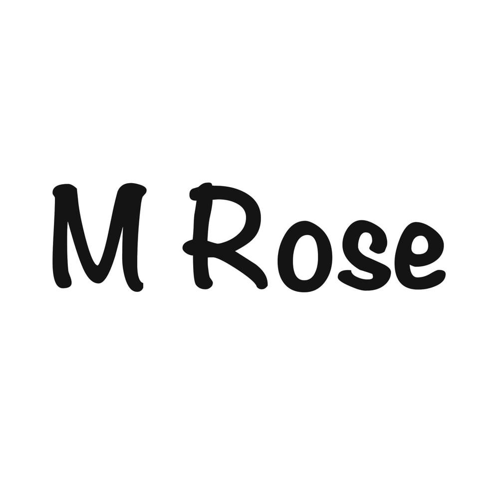 M ROSE/エンメローズ 配色レザーバッグ(イタリア製)