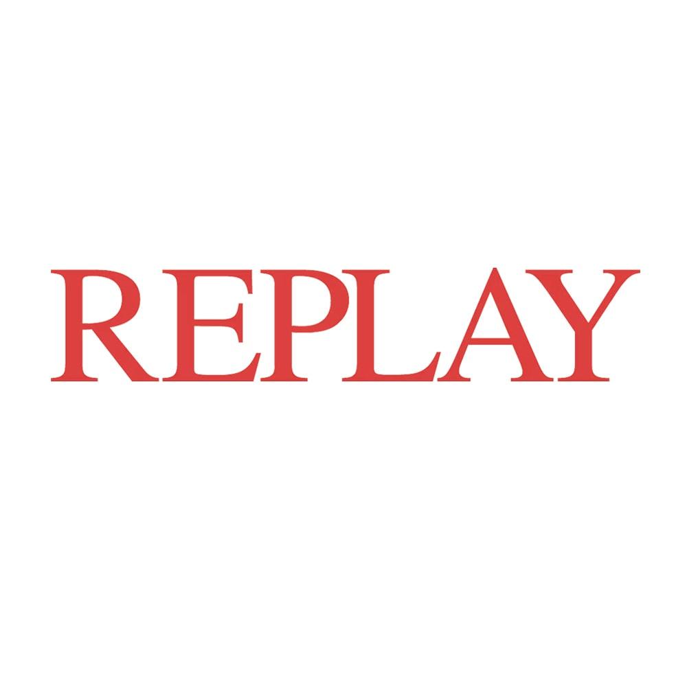 REPLAY/リプレイ オープントゥ ジュートサンダル