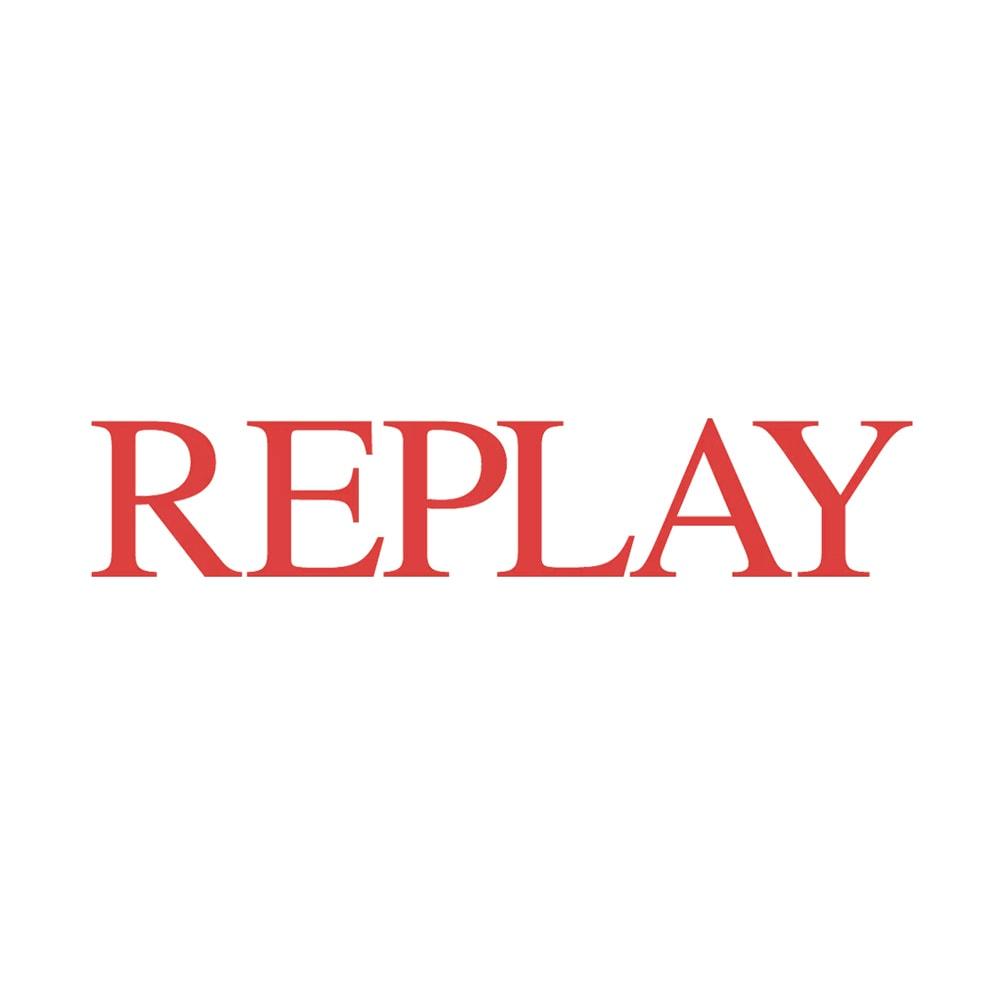 REPLAY/リプレイ ロゴ入り スポーツサンダル