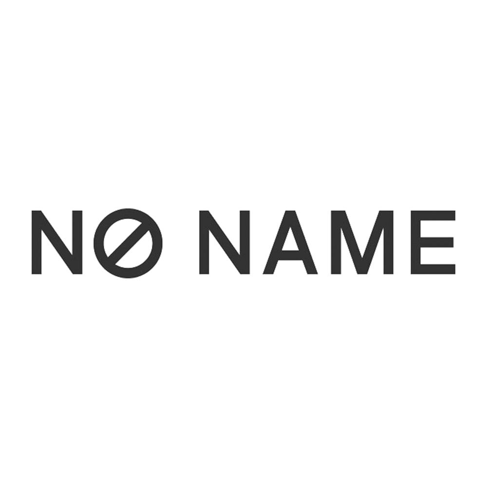 NO NAME/ノーネーム パンチングレザー 厚底スニーカー