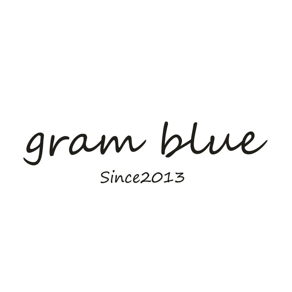 gram blue/グラムブルー ペグトップデニムパンツ