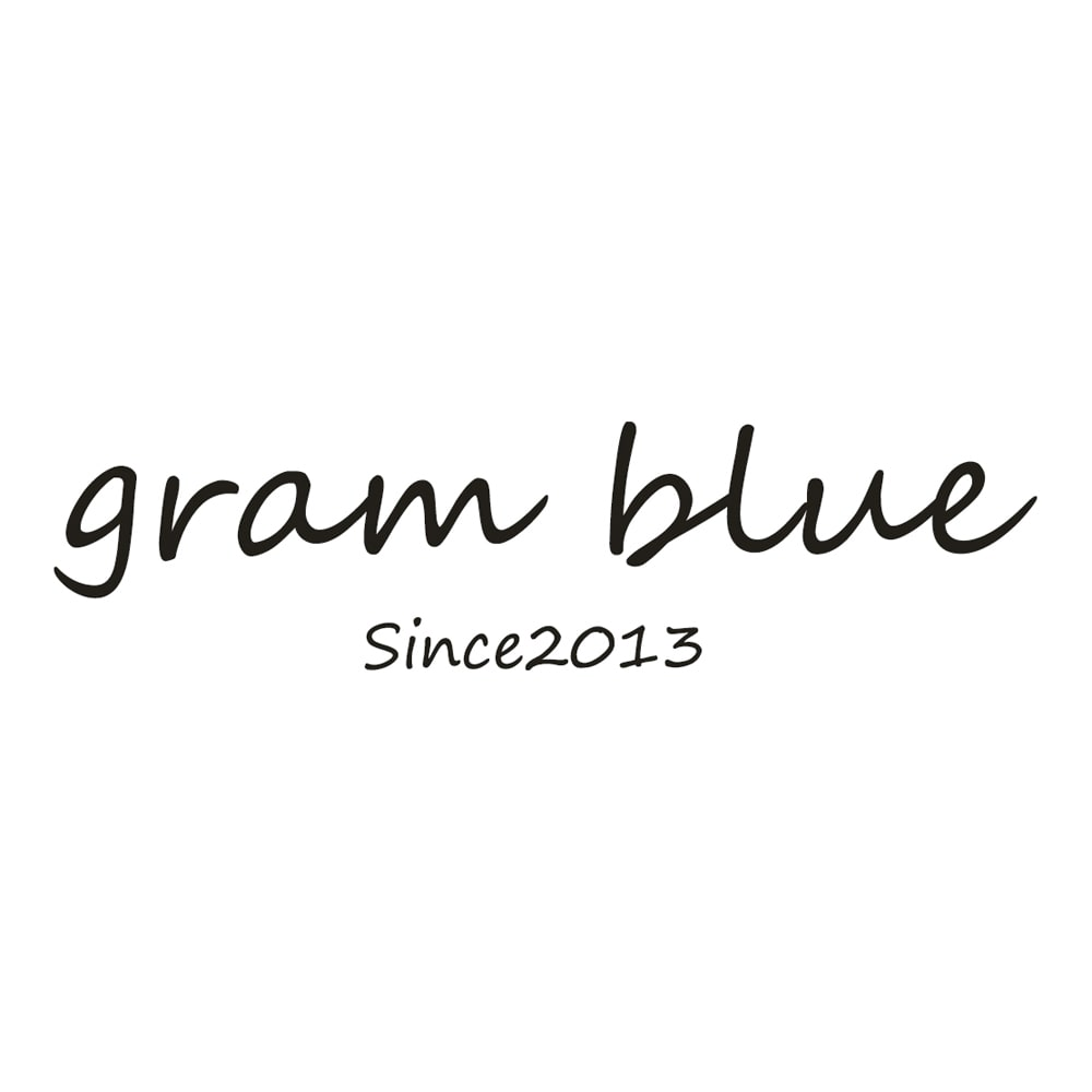 gram blue/グラムブルー 多機能デニムパーカ