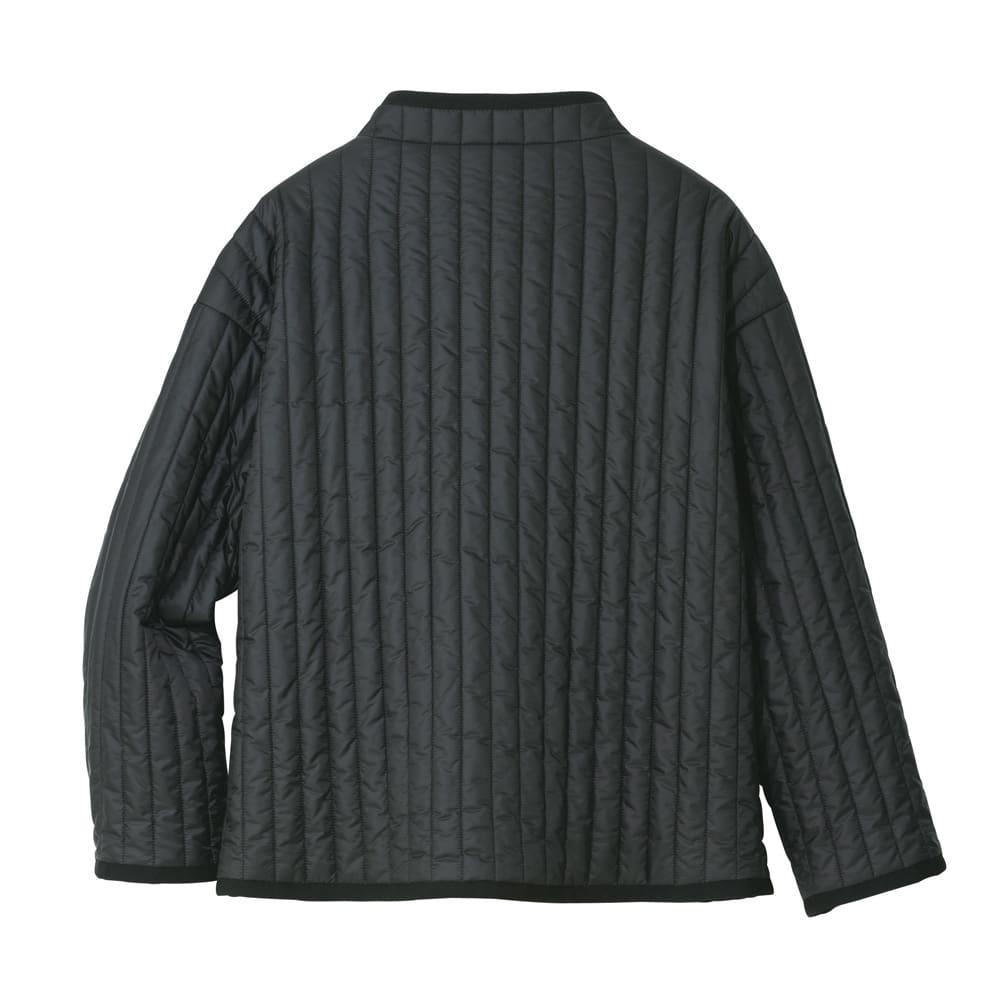 ライトマジック使用 機能中わたジャケット (ア)ブラック BACK STYLE