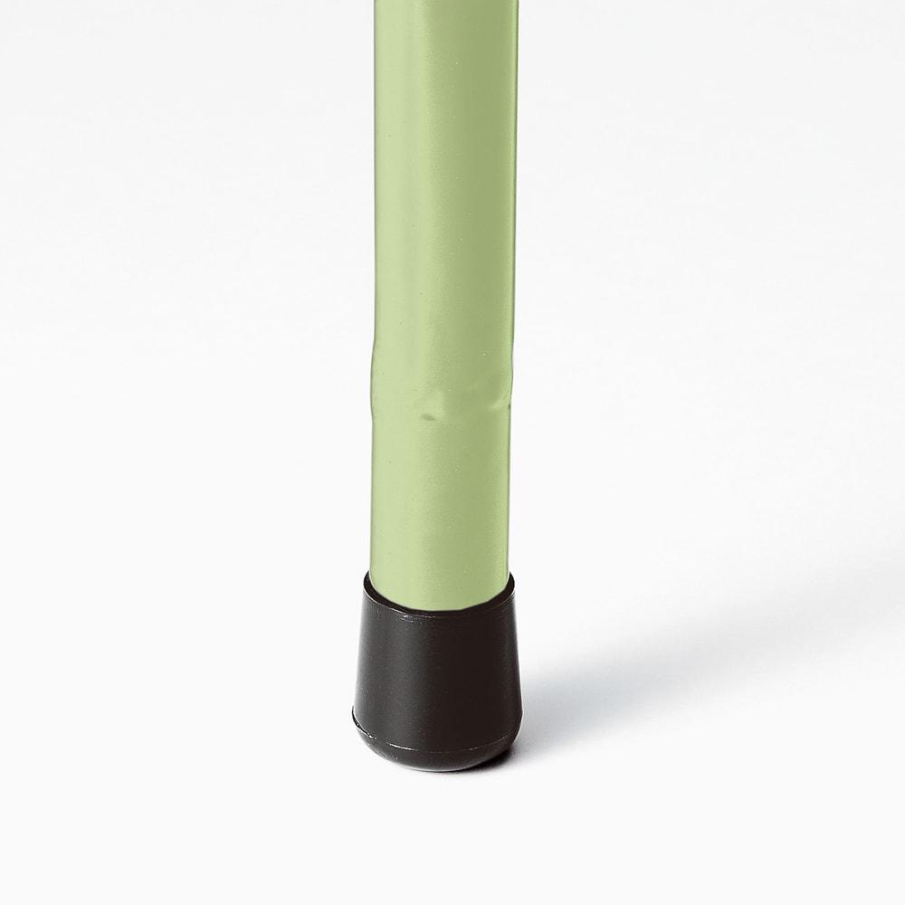 <吉谷桂子さんカラーセレクト商品>アイアンフラワーカーテン 1枚 上部と脚部にはすべり止めのキャップ付き。