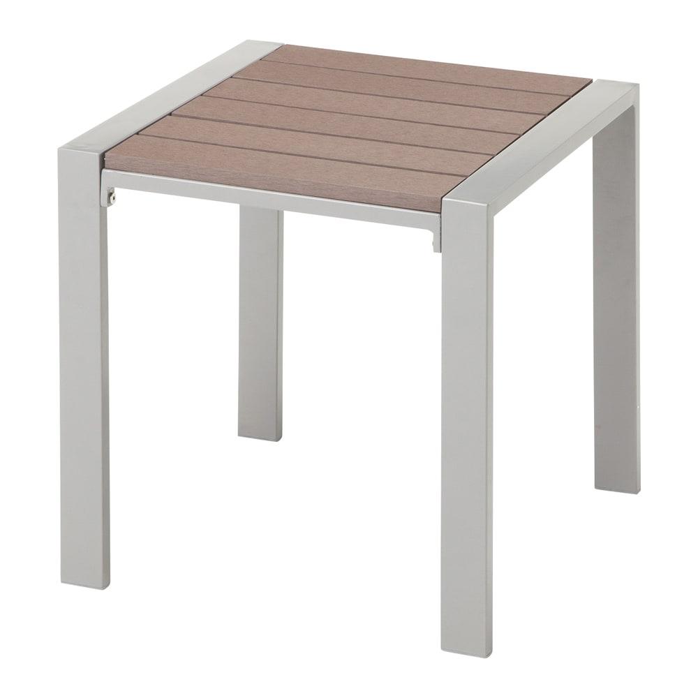 木風プラスチック&アルミファニチャー サイドテーブル G52106