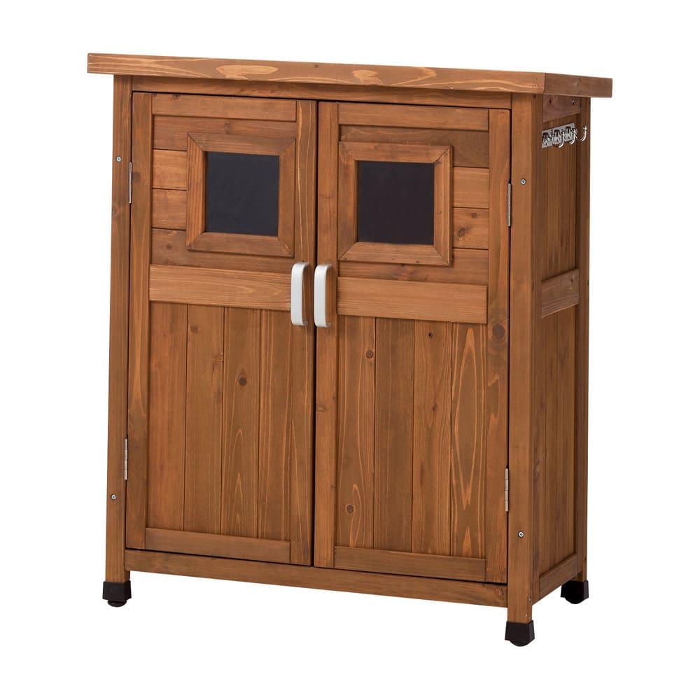 木製薄型収納庫 高さ92cm G61405