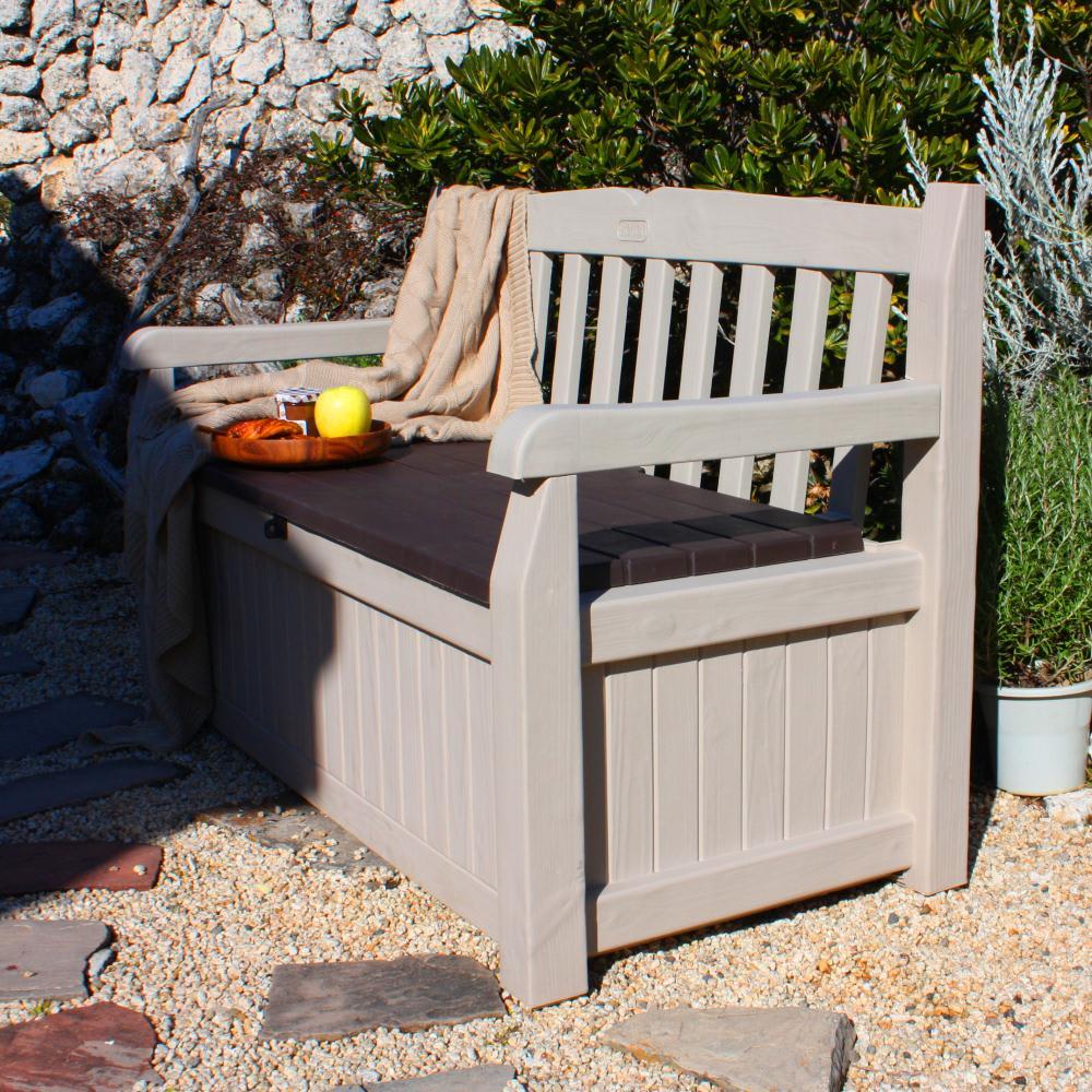 KETER社製ガーデン収納ベンチ