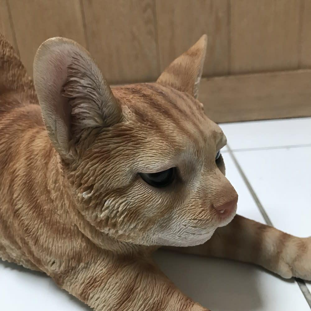 ネコのオーナメント 座りネコ