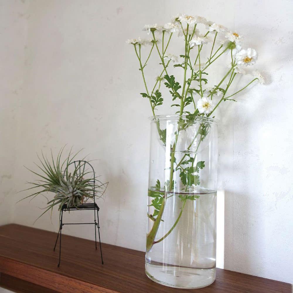 バルブベース大2中2 4点セット 切り花の花瓶としても使えます。